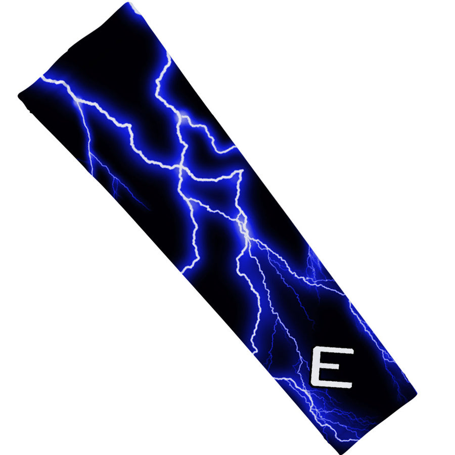 Blue Lightning Arm Sleeve