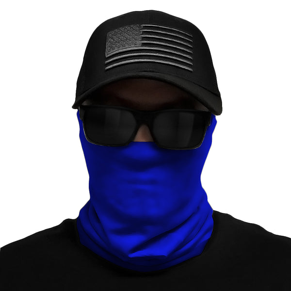 Blue Multi-Use Face Bandana