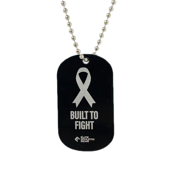 Built To Fight Dog Tag Necklace