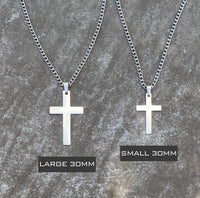 Cross Pendant With Chain Necklace