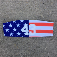 USA Flag Headband