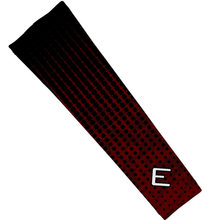 Maroon Hextone Arm Sleeve