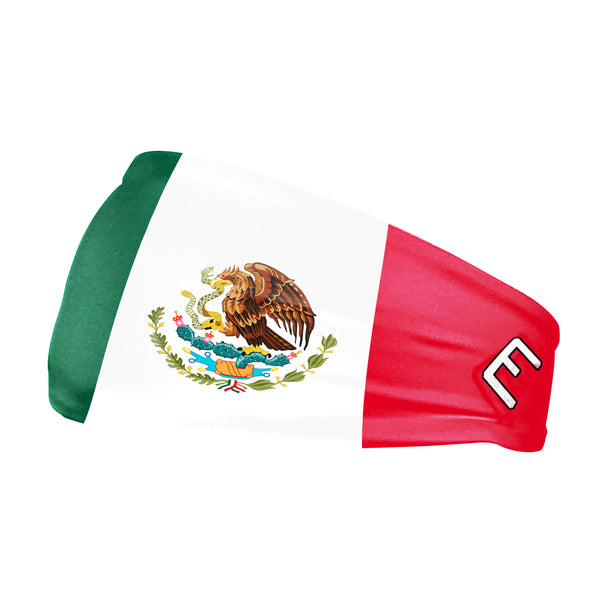 Mexico Flag Headband