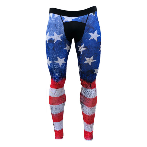Old Glory Compression Tights