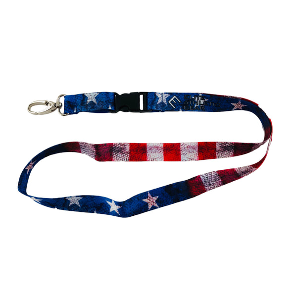 Old Glory Lanyard