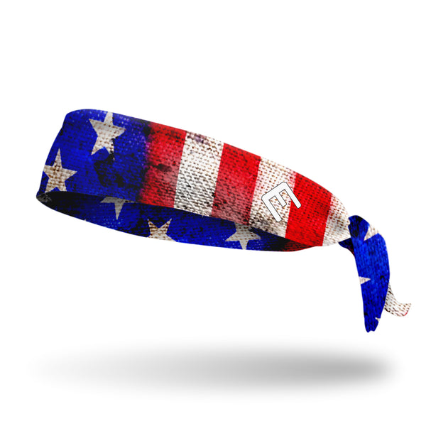 Old Glory Tie Headband