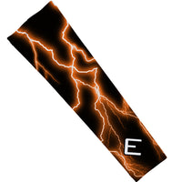 Orange Lightning Arm Sleeve