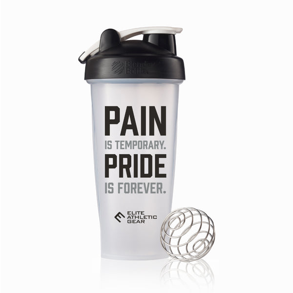 Pain Is Temporary Shaker Cup