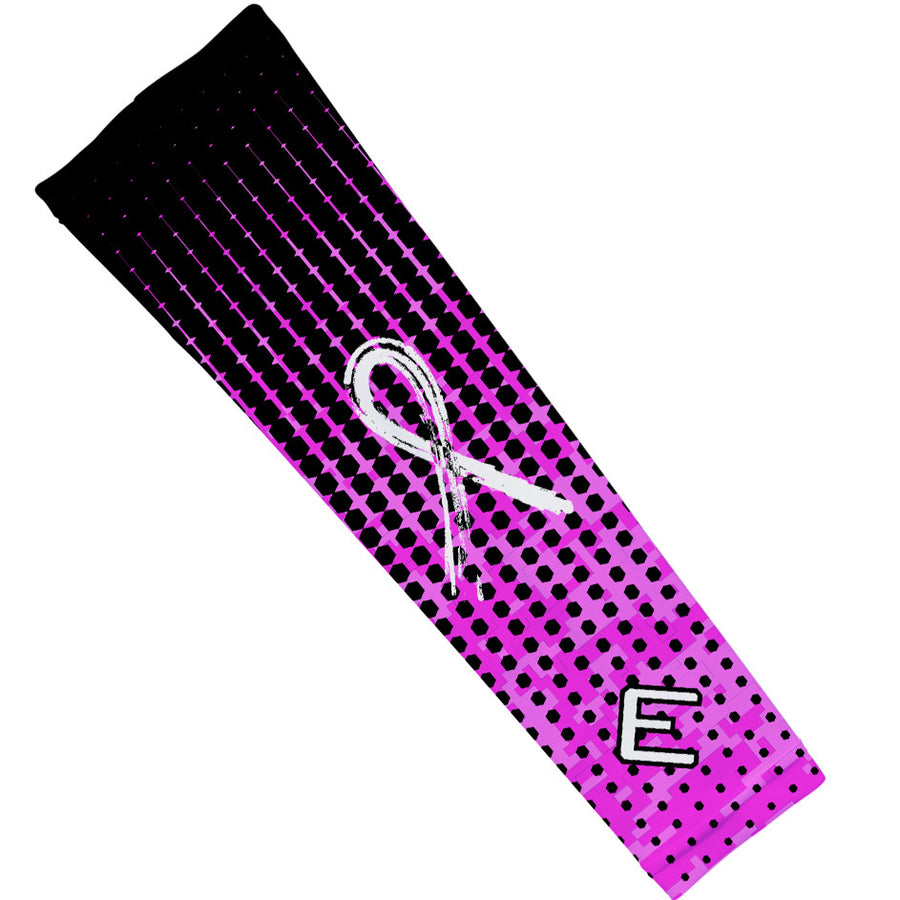 Pink Hextone Arm Sleeve - Breast Cancer Awareness Edition