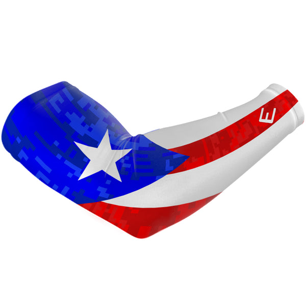 Puerto Rico Flag Arm Sleeve