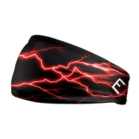 Red Lightning Headband