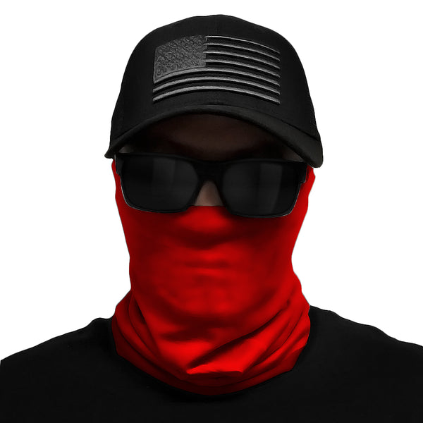 Red Multi-Use Face Bandana