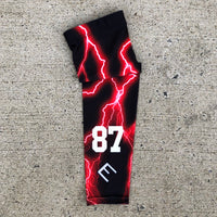 Red Lightning Arm Sleeve