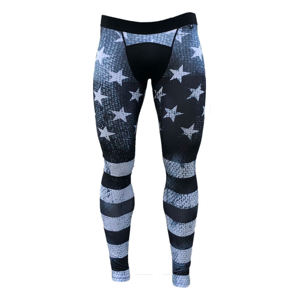 Shadow Old Glory Compression Tights