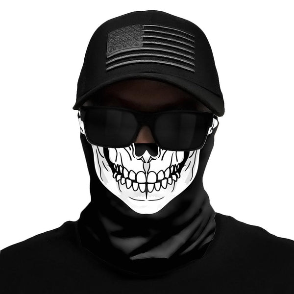 Skeleton Multi-Use Face Bandana