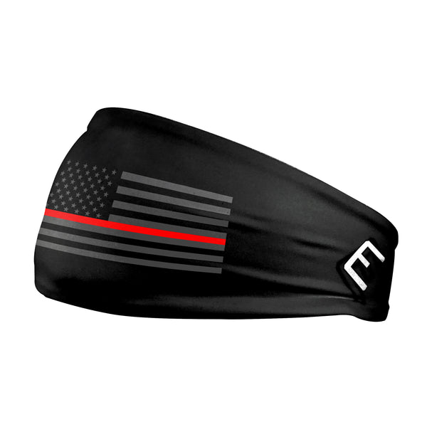 Tactical Thin Red Line USA Flag Headband