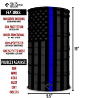 Thin Blue Line Multi-Use Face Bandana