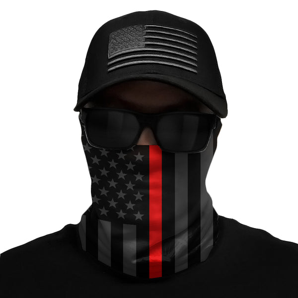 Thin Red Line Multi-Use Face Bandana