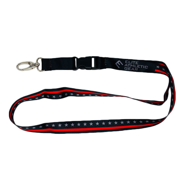 Thin Red Line Lanyard