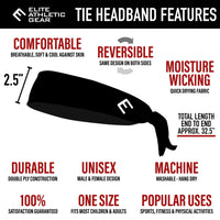 DOMINATE Tie Headband