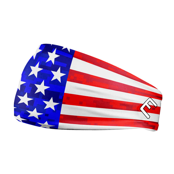 USA Flag 2.0 Headband