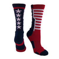 USA Flag Crew Socks