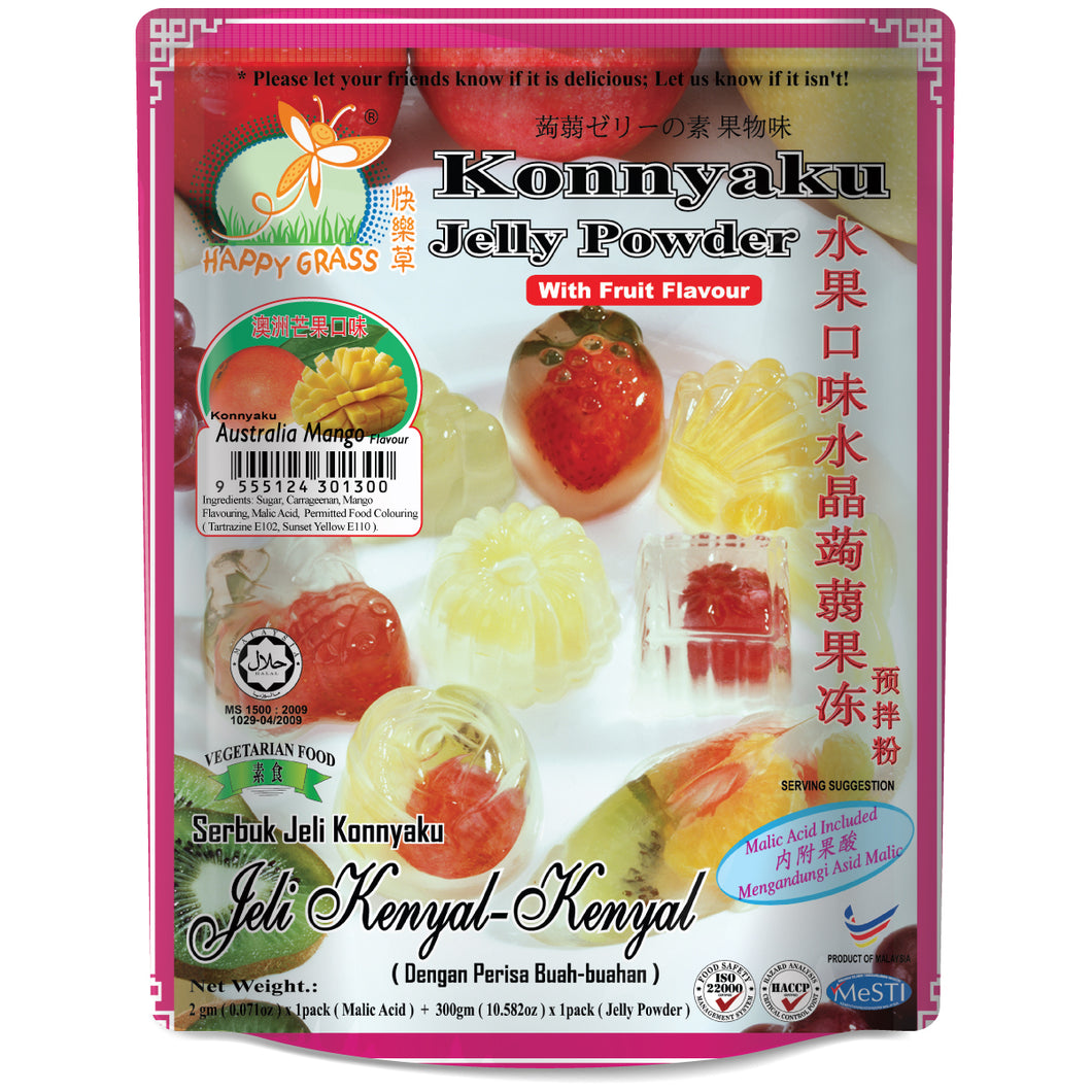 Flavoured Konnyaku Jelly Powder