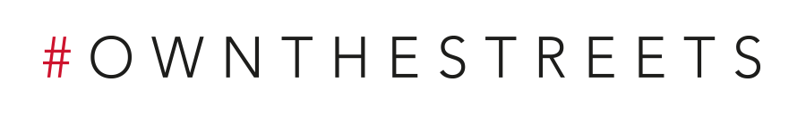 Own the streets Logo