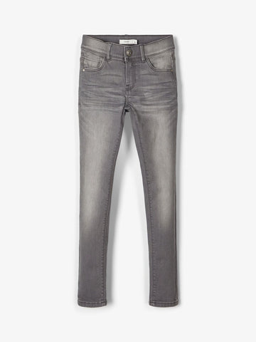 Polly dnm Tasis 4325 pant | Grey Denim