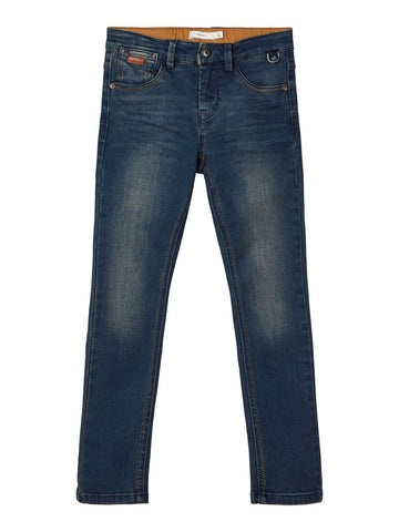 Silas dnm Toppes slim jeans | Dark Blue Denim