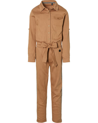 Kamila jumpsuit | Mid Brown