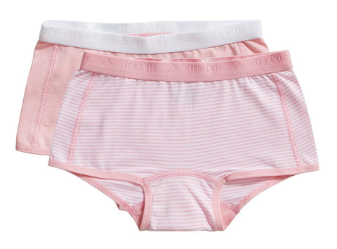 2 pack shorts | Candy Pink & Stripe