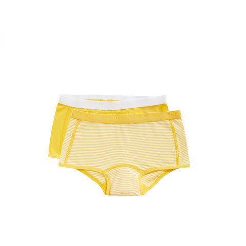 2 pack shorts | Stripe & Lemon Chrome