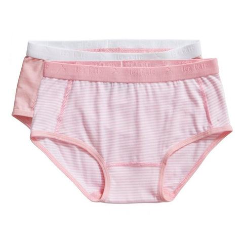 2 pack brief | Stripe & Candy Pink