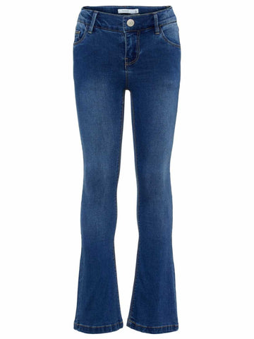Polly dnm indigo bootcut pant | Dark Blue Denim