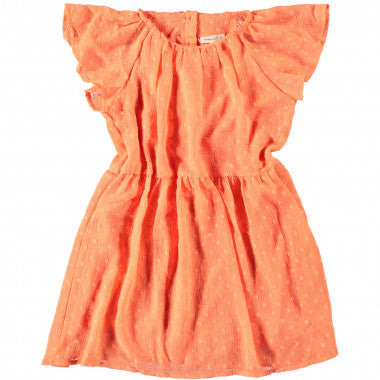 Hiddo capsl. dress | Persimmon