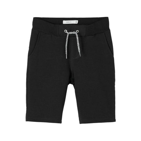 Honk sweat long shorts | Black
