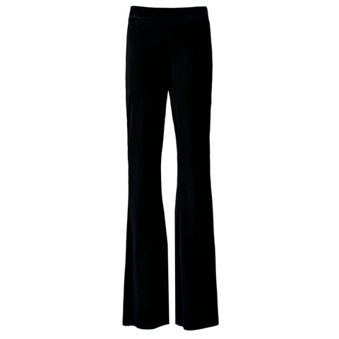 Flared pant | Off Black