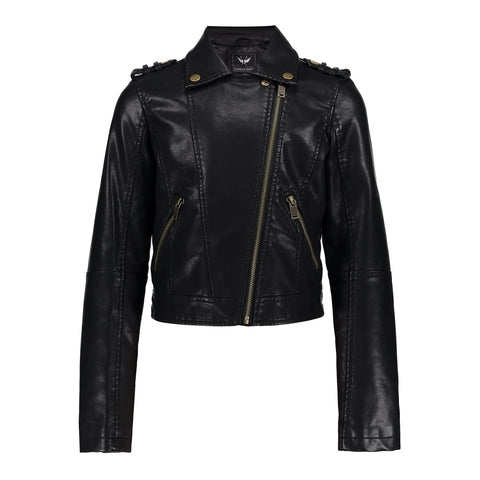 Frankie Fringes Jacket | Black