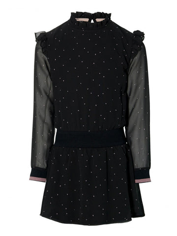 Kala dress | Black Dots