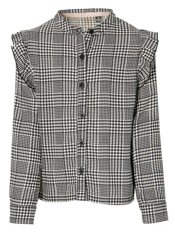 Katrin blouse | Black/White Check