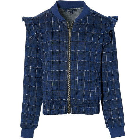 Kendra jacket | Dark Blue Check