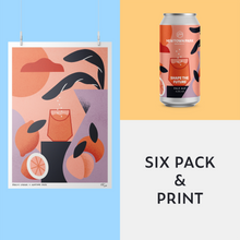 Load image into Gallery viewer, SHAPE THE FUTURE - 6 Pack + Print