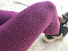 Load image into Gallery viewer, Booty Scrunch Compression Legging - Plum