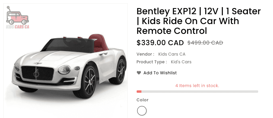 Kids Ride On Car With Remote