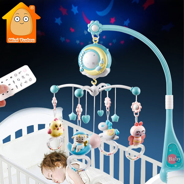 Musical Rotating Crib Mobile