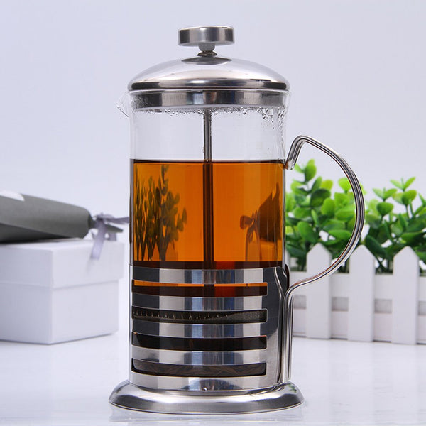 Stainless Steel French Press - For Coffee or Tea
