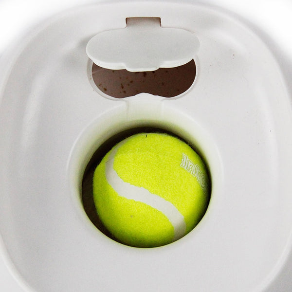 Tennis Ball Training Toy with Food Reward Machine