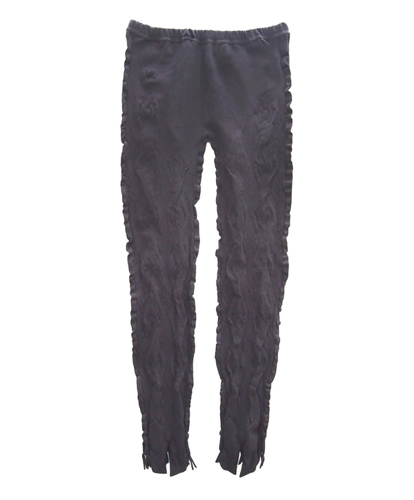 【Leggings】Ribbon and fringe evolution Leggings  NL065R-95