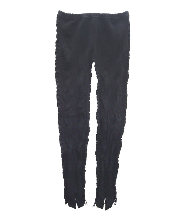 【Leggings】Ribbon and fringe evolution Leggings  NL065R-99
